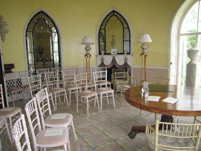 Music Room as Wedding Venue