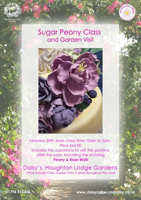 Sugar Peony Class